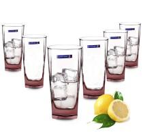 Bộ 6 cốc Luminarc Sterling Ice Pink 330ml - J5387 / H8918
