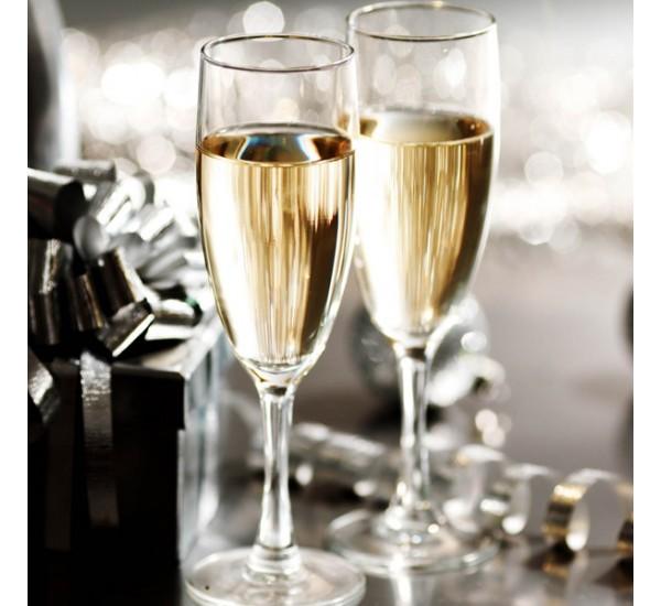 Bộ 6 ly champagne thủy tinh Luminarc Elegance 170ml - 12063
